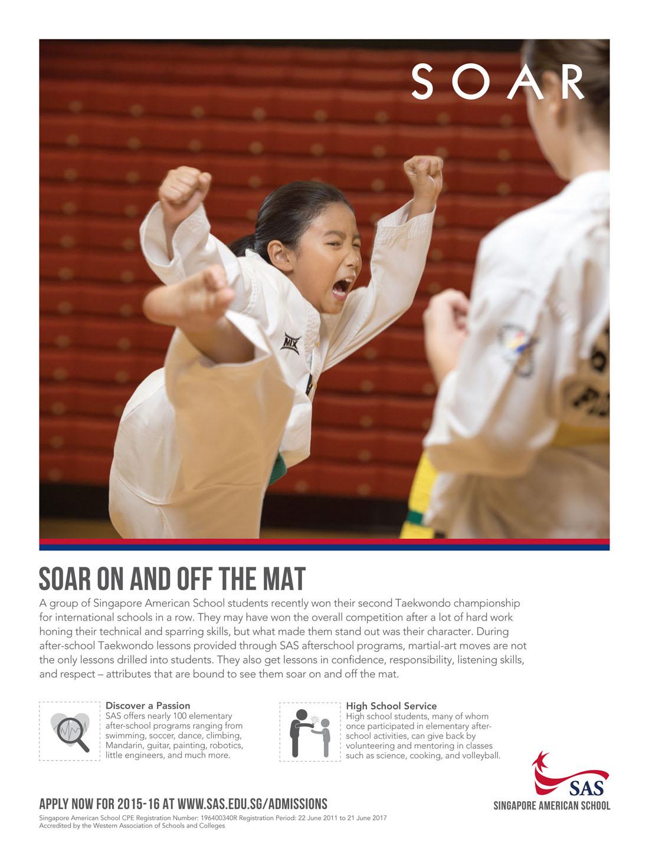 06 - SCOTT A WOODWARD - Soar Ad 2014 - Taekwondo