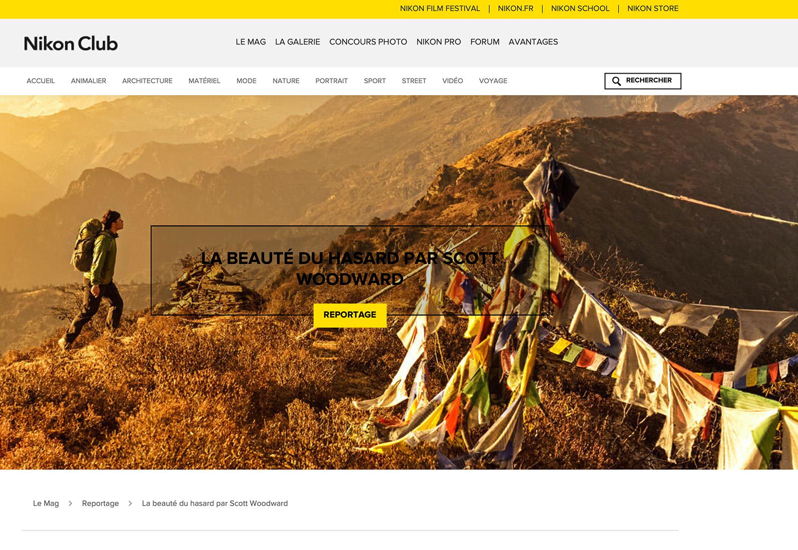 Nikon.fr - Reportage